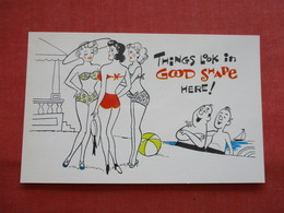Risque Humor  Things Look In Good Shape Here    Ref  3475 - Humour