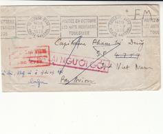 France / Airmail / Vietnam / Military Mail - France