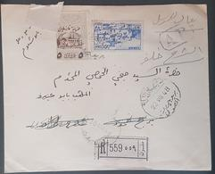 GE Lebanon 1948 Registered Cover From BEYROUTH RP To DJISR BEYROUTH - Lebanon