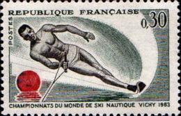 France Poste N** Yv:1395 Mi 1449 Ski Nautique Vichy - Ongebruikt