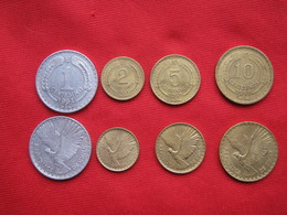 Chile Set 4 Monedas  KM 189- 190-191-193 - Chile