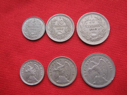 Chile Set 4 Monedas  KM 165-166-167 - Chile