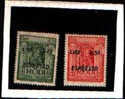 5736BIS )  EGEO- Espressi - ESPRESSI - 1944 -SERIE-MNH** - Ägäis
