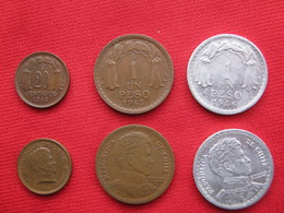 Chile Set 3 Monedas KM 177-179-179a - Chile