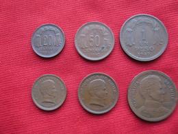 Chile Set 3 Monedas KM 177-178-179 - Chile