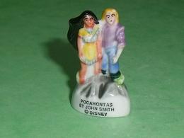 Fèves / Disney : Pocahontas Et John Smith  T87 - Disney