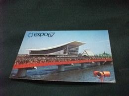 PICCOLO FORMATO EXPO 67 MONTREAL CANADA THE PAVILION OF THE SOVIET UNION - Esposizioni