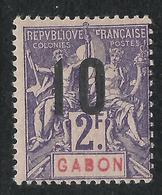 GABON 1912 YT 77** - MNH - SANS CHARNIERE NI TRACE - Gabon (1886-1936)