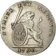 Monnaie, AUSTRIAN NETHERLANDS, Lion Argent, Etats Belgique Unis, 1790, Bruxelles - Belgique