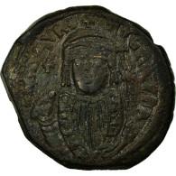 Monnaie, Maurice Tibère, Follis, 602, Constantinople, TTB, Cuivre, Sear:495 - Byzantine