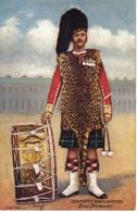 RU Angleterre Seaforth Highlanders Bass Drummer Illustrateur ? Raphaël Tuck & Sons OILETTE N°9356 VOIR DOS Knight Photo - Otros