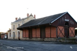 Chabris (36)-Gare (Edition à Tirage Limité) - France