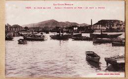 X64266 Saint JEAN De LUZ Barque MARIE-MARIANNE Bateaux Pêcheurs Port Fon RHUNE 1920s  Côte Basque LABOUCHE 1385 - Saint Jean De Luz