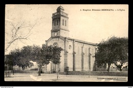 ALGERIE - EUGENE-ETIENNE-HENNAYA - L'EGLISE - VOIR ETAT - Other Cities
