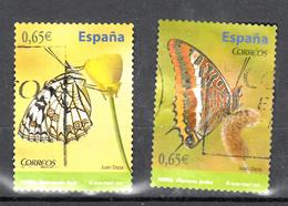 Spanje 2011 Mi Nr  4573 + 4574 , Vlinder, Butterfly - 2011-... Afgestempeld