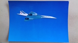 Carte Postale Concorde + Tampon - 1946-....: Modern Tijdperk
