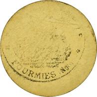 Monnaie, France, Ville De Fourmies, Fourmies, 5 Centimes, TTB, Carton - Monétaires / De Nécessité