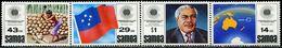 AS5956 Samoa 1983 Commonwealth Day Flag President, Etc. 4V MNH - Samoa