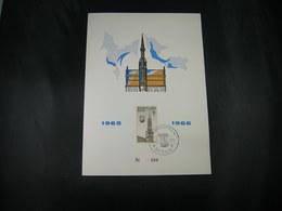 """BELG.1965 1354-1358 FDC ( Zottegem) Echophil Card : """"Grand Place De Bruxelles/Brussel Grote Markt """" - 1961-70"""