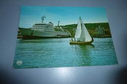 COURRIER DU MAROC ..L'AGADIR A QUAI ...SETE - Ferries