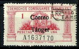 Tanger Nº 143 En Usado - Maroc Espagnol