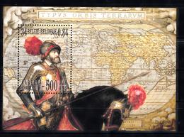 Belgie 2000 Mi Nr  Blok 736 Karel V Op Het Paard, Horse, Schilderij - Ongebruikt
