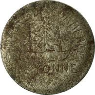 Monnaie, France, Chambre De Commerce, Bayonne, 10 Centimes, 1917, TB+, Iron - Monétaires / De Nécessité