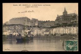 BATEAUX - CARGOS - LE VECTIS SUNDERLAND AU GRAND BASSIN DE GRANVILLE (MANCHE) - Commerce