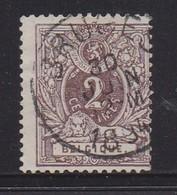 BELGIUM, 1888, Used Stamp(s), Definitives, MI 48, #10267, - 1869-1888 Liggende Leeuw