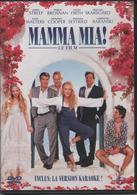 "DVD 1 FILM ""MAMMA MIA"" MERYL STREEP / PIERCE BROSMAN / COLIN FIRTH Etc... Inclus Version KARAOKE - Politie & Thriller"