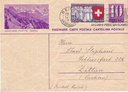 SUISSE 1939  ENTIER POSTAL/GANZSACHE/POSTAL STATIONERY CARTE ILLUSTREE DE BERN - Interi Postali