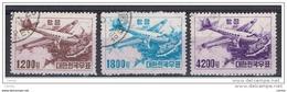 COREA  DEL  SUD:  1952  P.A. DUGLAS  C 47  -  S. CPL. 3  VAL. US. -  YV/TELL. 6/8 - Corea Del Sud