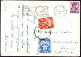 YUGOSLAVIA - ITALIA - PORTO  5 + 10 Din - BARI To FIUME - 1962 - Segnatasse