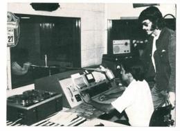 """CPM """" A La Radio Educadora De Guajara-Mirin, Ondes Tropicales En Amazonie"""" Studio De Diffusion, Animé - Circulé 1984 - Spectacle"""