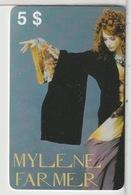 MYLENE FARMER - Personnages