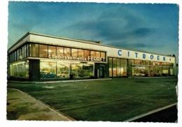 Etablissements Ferret - Concessionnaire CITROEN - Macon (71) - Hall D'exposition, Circulé 1969, EMA NA 8023 - Cartes Postales