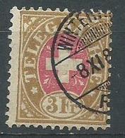 Suisse Telegraphe Yvert N° 7  Euro Oblieration Winterthour - Telegraph