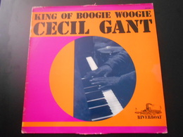Disque 33 Tours Jazz CECIL GANT King Of Boogie Woogie - 1975 - Jazz
