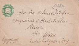 SUISSE 1876  ENTIER POSTAL/GANZSACHE/POSTAL STATIONERY  LETTRE DE GIORNICO - Interi Postali
