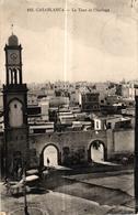 MAROC - CASABLANCA LA TOUR DE L'HORLOGE - Casablanca