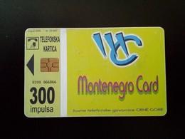 Montenegro Phonecard - Montenegro