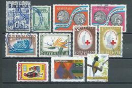 GUATEMALA LOT Gestempelt Siehe Scan - Guatemala