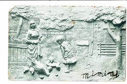 CPA - Carte Postale-Belgique-Un Enfant Et Sa Maman Donnant à Manger Au Poules-1902? VM4447 - Paysans