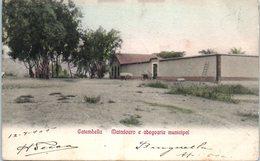 ANGOLA - Catumbella - Matadouro A Abegoaria Municipal (manque Au Dos) - Angola