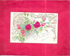 CPA DOS SIMPLE  COLORISEE FANTAISIE GAUFREE - Bouquet De Fleurs -  DELC2/ROY - - Fancy Cards