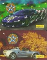 Malaysia, GPT Phone Card, Classic Cars (2-Cards) - Malaysia