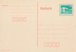 DDR Entier (Berlin) Neuf 10pf Vert/orange P86 (III 18 185 Ag 400), Postkarte  Papier Crème - [6] República Democrática