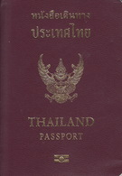Biometric Passport, Reisepass, Passeport, Passaporte, Paspoort, Reispas Thailand 2011 - Historical Documents