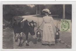 Laitière Wallonne. Carte Envoyée De Dinant. - Postcards