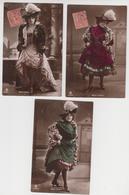 MF192 - LOT 3 CARTES - ARTISTE - MARY IRBER - SPECTACLE - Künstler